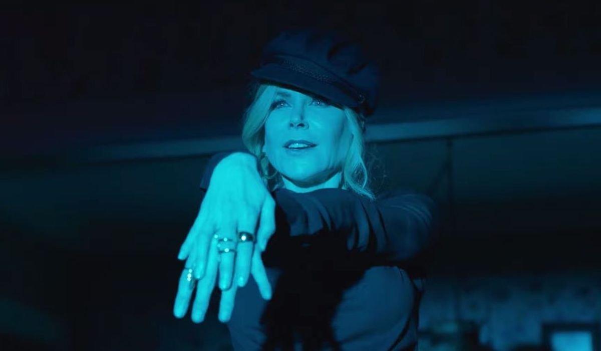 Nicole Kidman in Zazz scene in The Prom