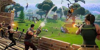 Fortnite: Battle Royale shootout