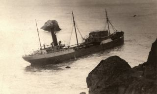 The Lyman Stewart wreck