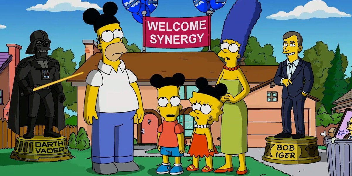 The Simpsons Disney