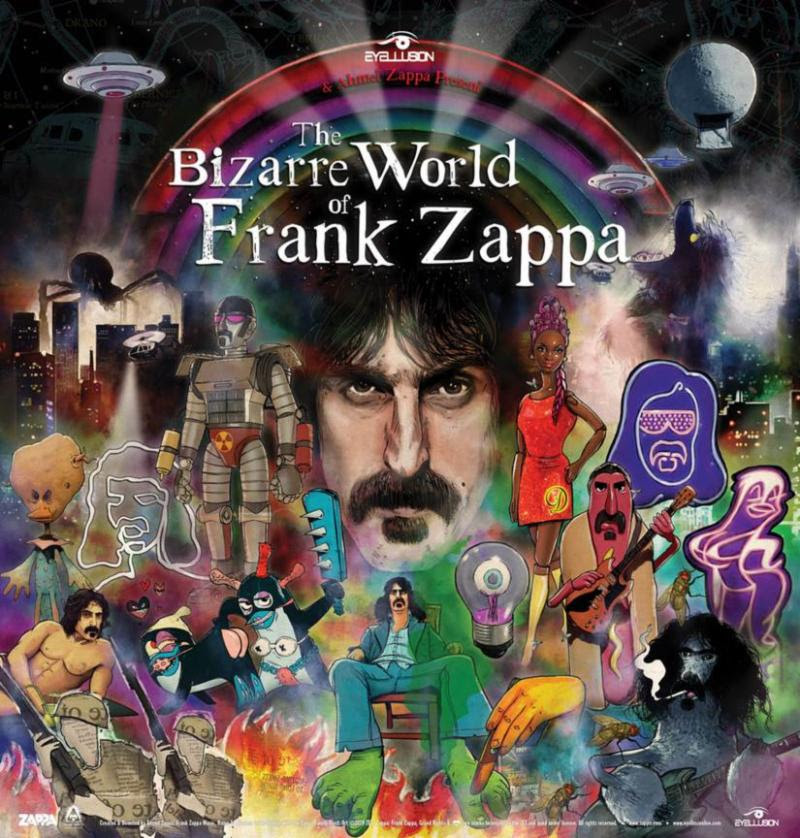 'The Bizarre World of Frank Zappa' Hologram Tour Set for U.S. in April