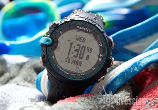 The Garmin Swim watch.