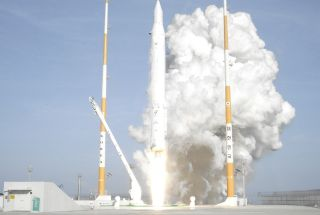 South Korea KSLV 1 Rocket Launch 4