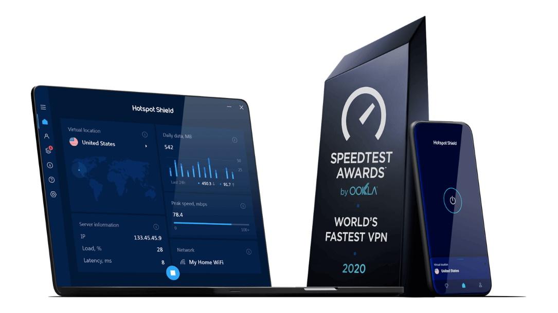 Hotspot Shield - VPN Trung Quốc