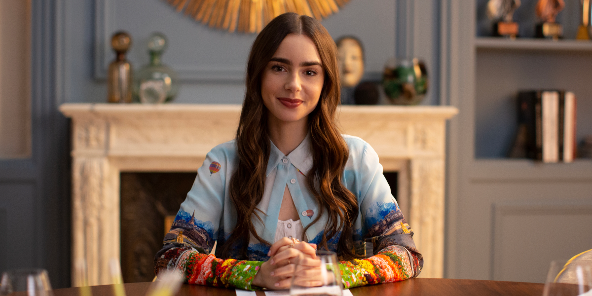 Emily in Paris Lily Collins Emily Cooper Netflix