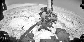 Mars rover drill