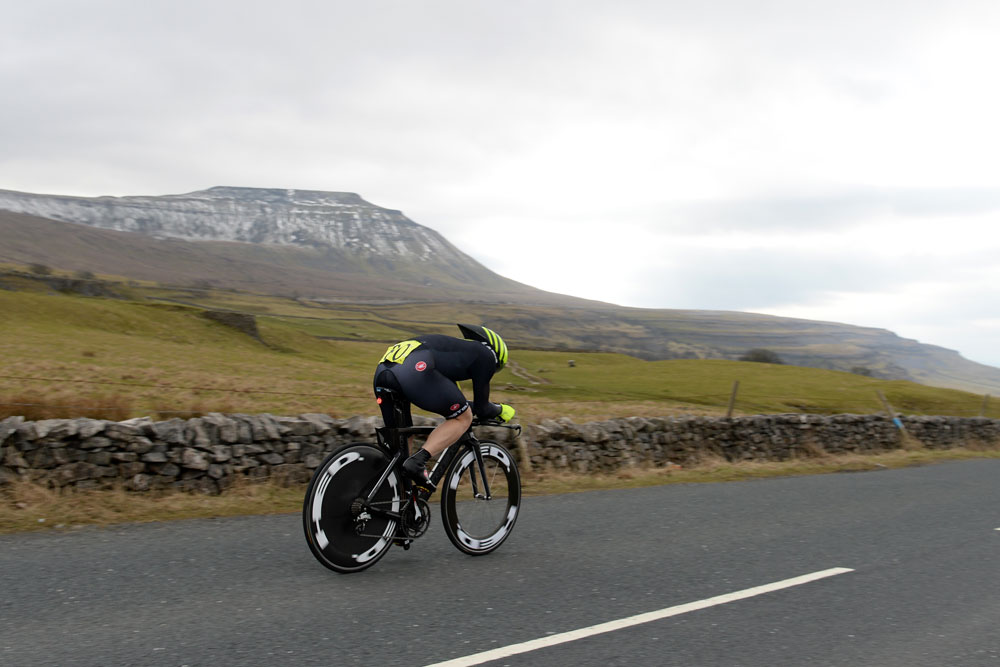Pacing is key in a cycling time trial. Image: Andy Jones