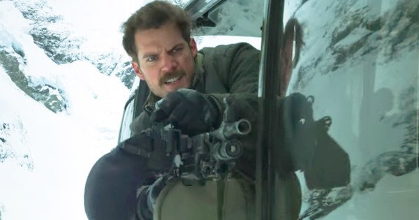 Henry Cavill Mission: Impossible - Fallout