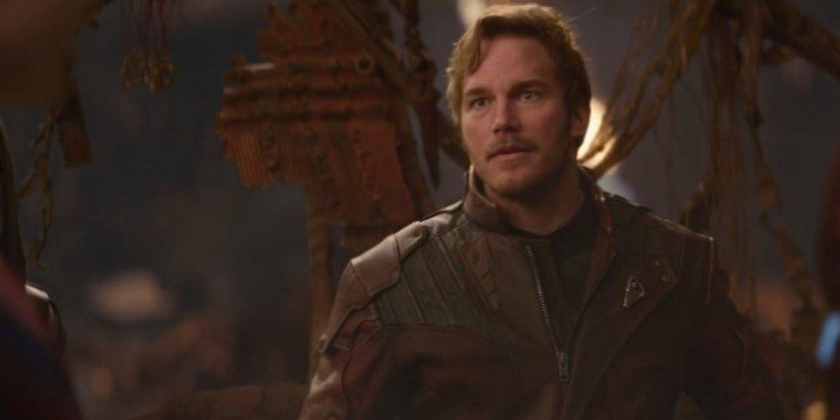 Star-Lord (Chris Pratt) in Avengers: Infinity War