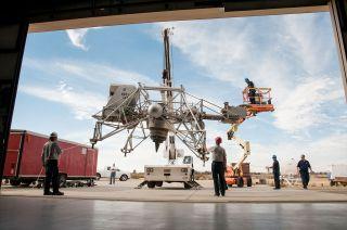 NASA's Lunar Landing Research Vehicle (LLRV)
