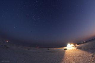 Starry Night over Thar Desert