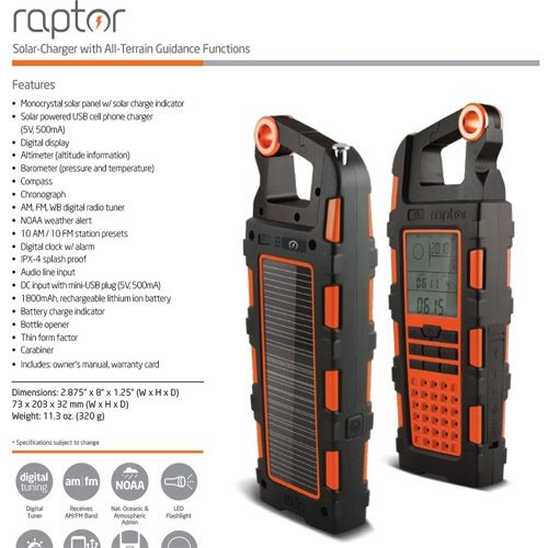 Eton Raptor Review - Pros, Cons and Verdict | Top Ten Reviews