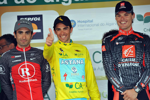 Alberto Contador wins Tour of the Algarve 2010, stage 5 TT