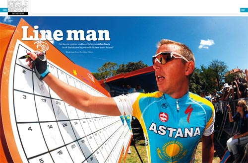 Allan Davis, Cycle Sport April 2010 issue