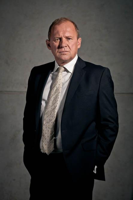 Peter Firth: Harry won't retire to run a tea shop!
