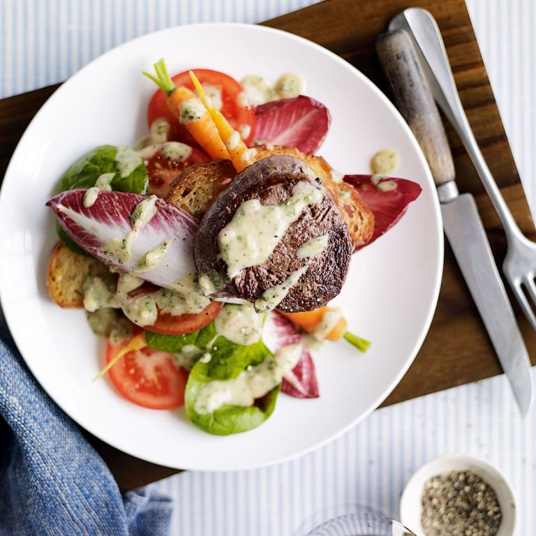 Warm Beef Fillet Salad-woman and home-recipes