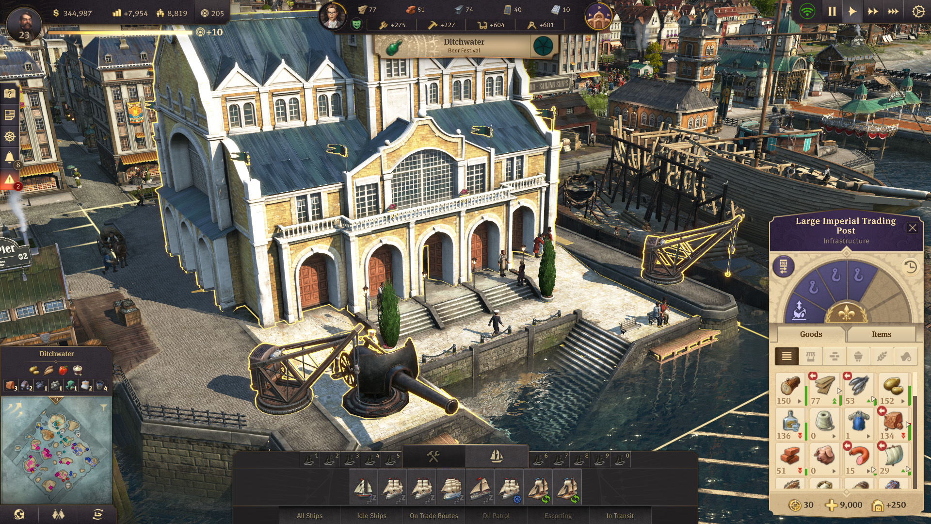 Anno 1800 tips: production lines, money making and more explained