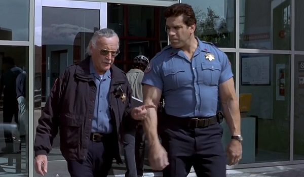 Stan Lee Lou Ferrigno Hulk