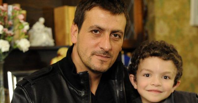 Peter Barlow overdoes the festive spirits!