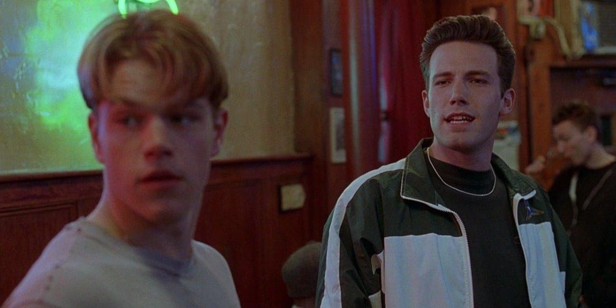 Matt Damon and Ben Affleck in Good Will Hunting