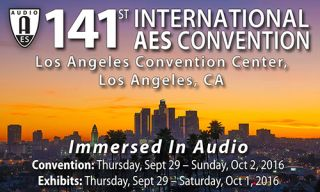 AES Los Angeles Convention Calendar of Events Goes Live