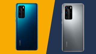 Huawei P40 vs P40 Pro