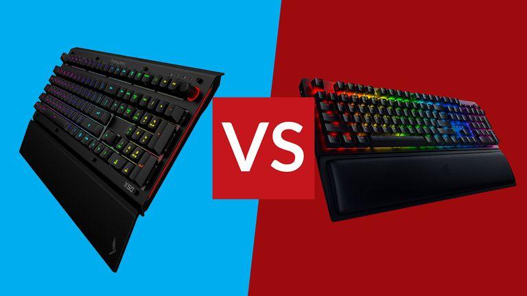 Razer BlackWidow V3 Pro vs Das Keyboard X50Q