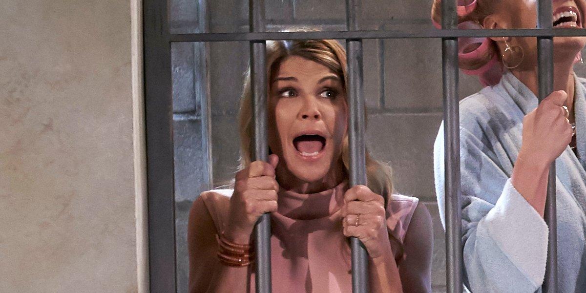 aunt becky in jail fuller house