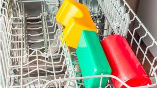 Toys in dishwasher