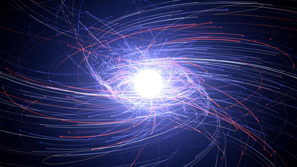 Could there be a cluster of antimatter stars orbiting our galaxy?