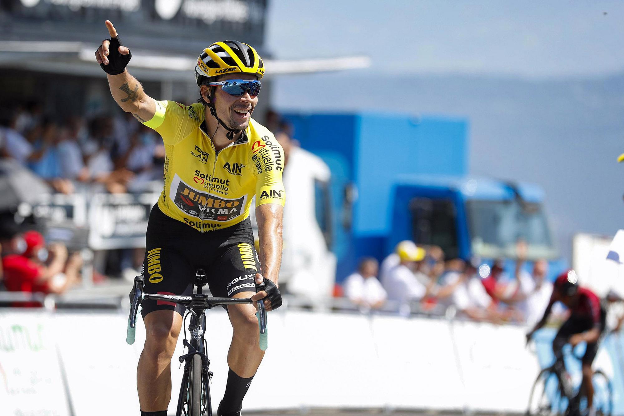 Criterium Du Dauphine Primoz Roglic Wins Stage 2 Atop Col De Porte Cyclingnews