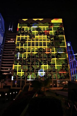 Christie and Avollusion Light Landmarks at Lumieres Hong Kong Festival