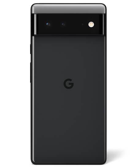 Pixel 6 in Stormy Black