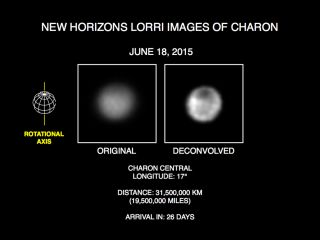 Pluto Moon Charon's 'Dark Pole'