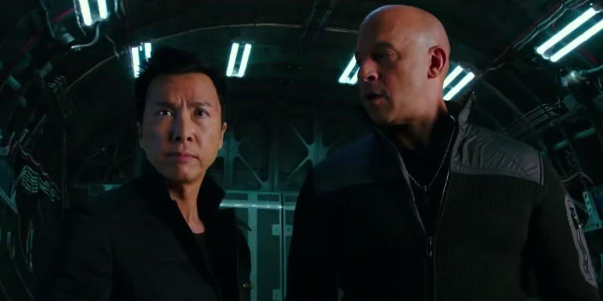 Donnie Yen and Vin Diesel in xXx: Return Of Xander Cage