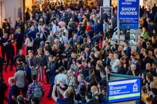ISE 2020 crowd