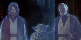 Wait, Star Wars: The Clone Wars Was Going To Explain Anakin's Force Ghost Return?