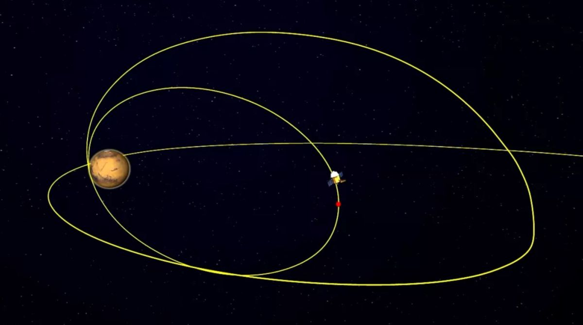 China's Tianwen-1 lowers its orbit round Mars to arrange for rover touchdown