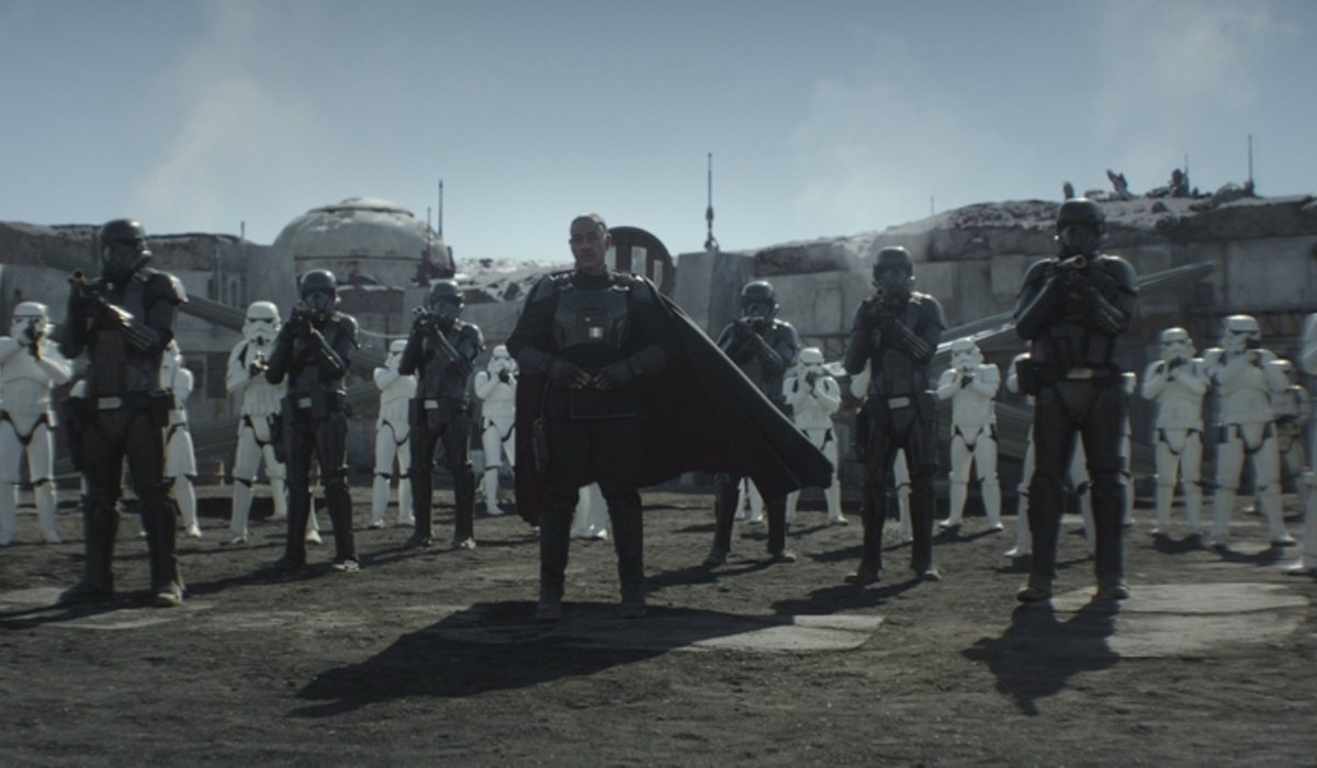 the mandalorian moff gideon stormtroopers disney+