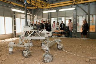 ExoMars Rover prototype demonstration 2010