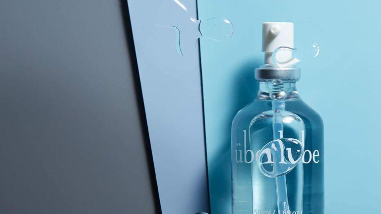 best lube: uberlube in glass bottle