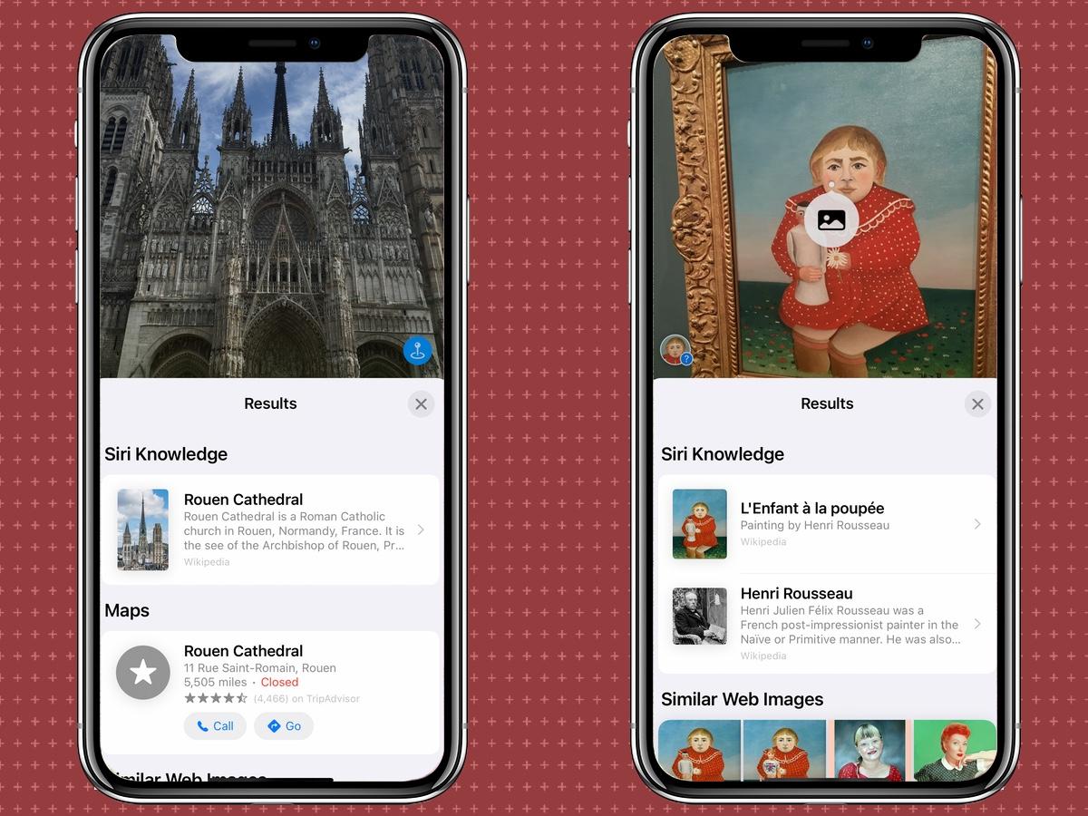 iOS 15 visual look up