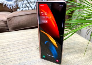 Samsung Galaxy Z Fold 2 review cover display