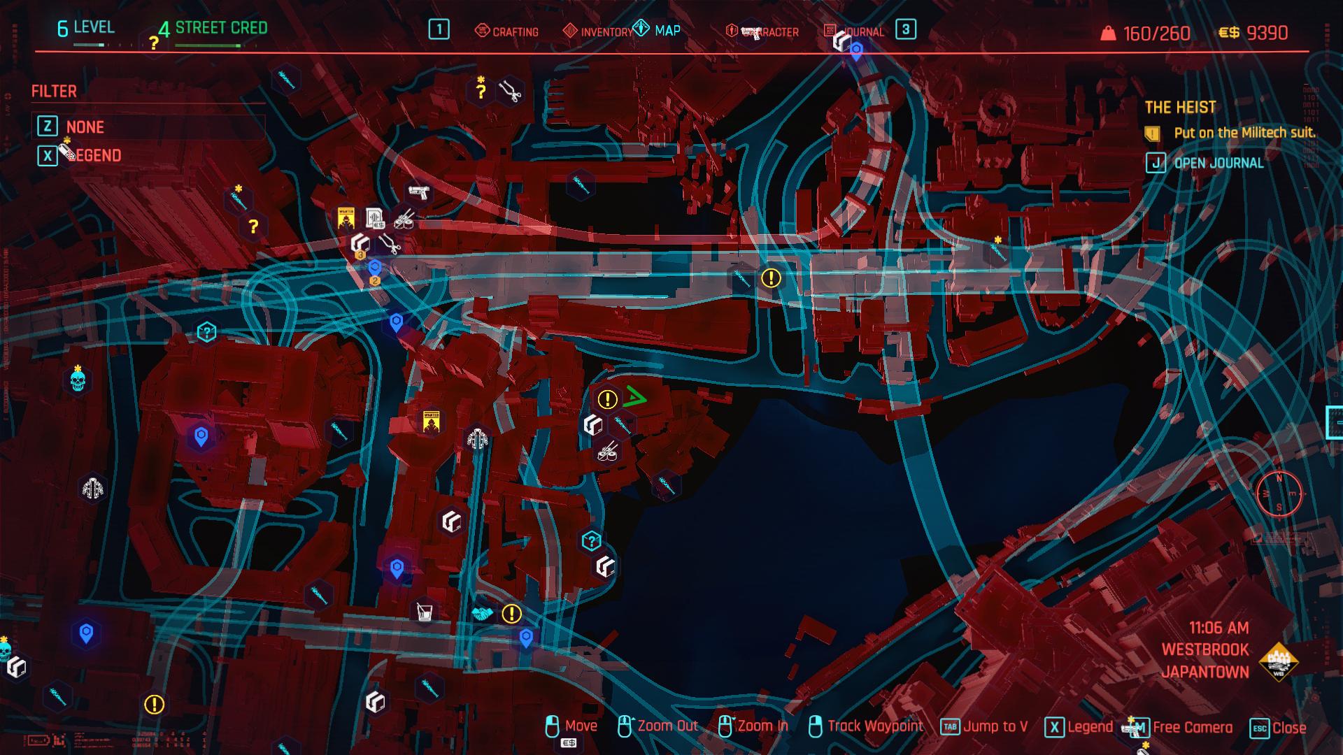 Cyberpunk 2077 monowire