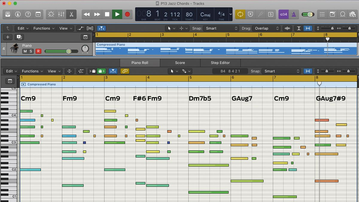 How to create simple jazz, funk and gospel chords