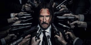 Keanu Reeves on John Wick: Chapter Two Poster