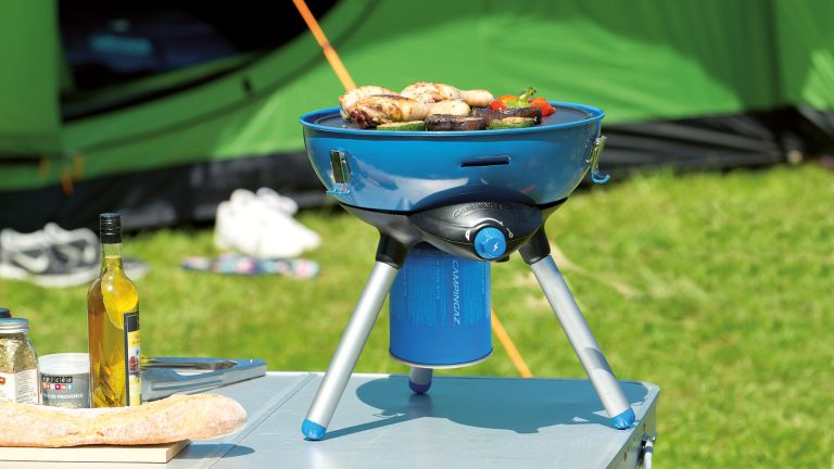 best camping grill: Biolite Firepit Grill