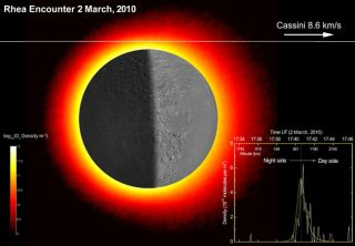 Saturn Moon Rhea's Surprise: Oxygen-Rich Atmosphere