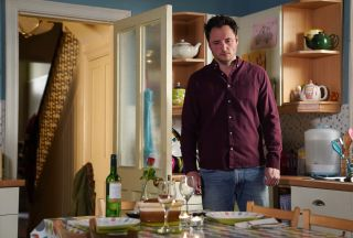 EastEnders Martin and Stacey's evening is ruined
