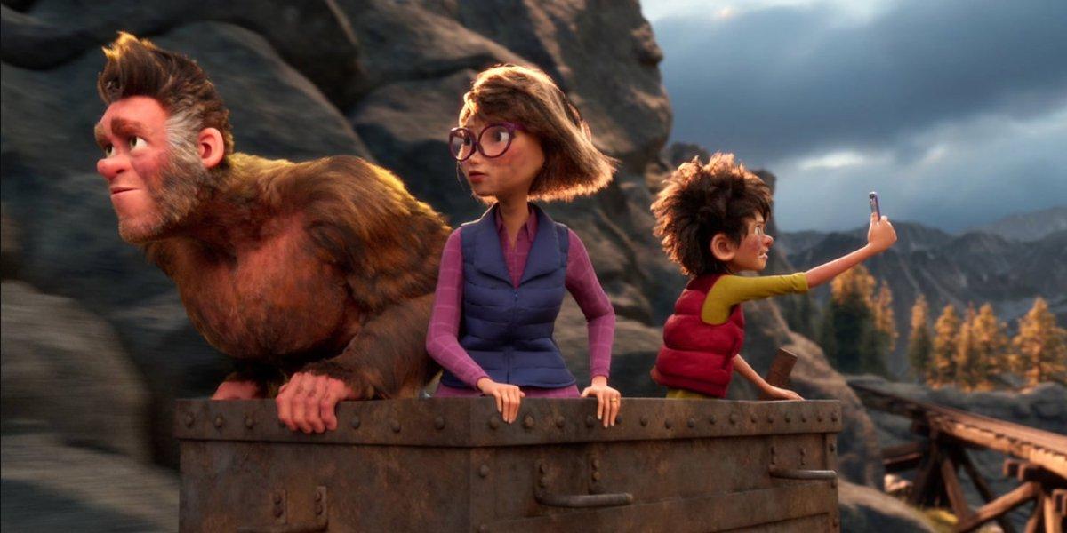 The Bigfoot Family cast